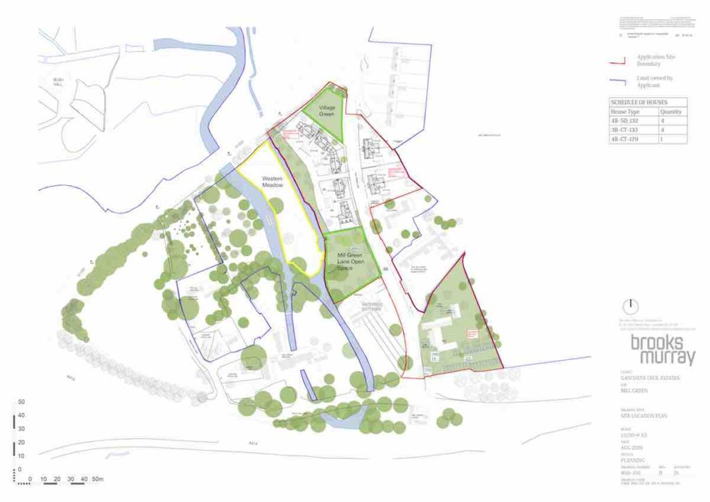Mill Green Masterplan